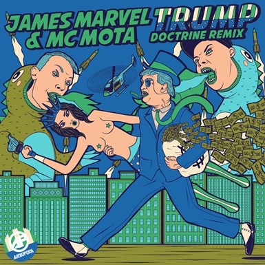 James Marvel & MC Mota artwork