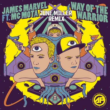 James Marvel & MC Mota - Way of the Warrior (June Miller Remix) artwork