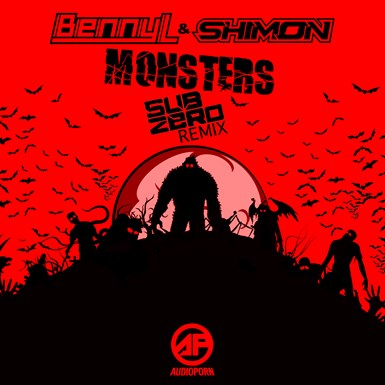 Monsters (Sub Zero Remix) artwork
