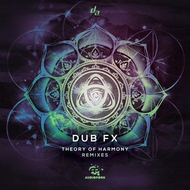 Theory Of Harmony Remixes LP artwork