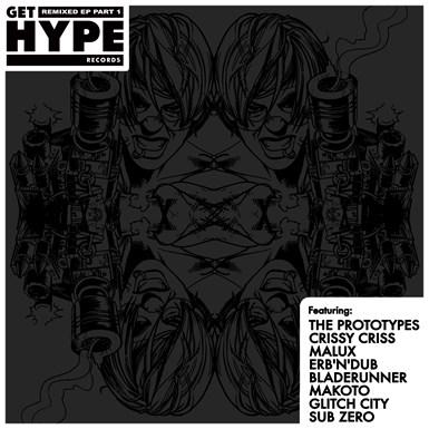 Get Hype Remixed EP Part 1 artwork