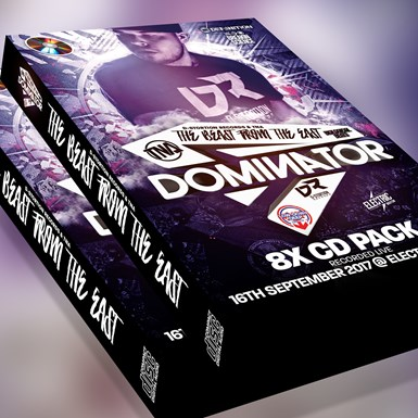 Dominator - 8 CD Pack - Recorded 16th September 2017 @ Electric Brixton artwork