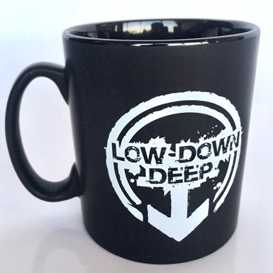 Official Low Down Deep Mug [Matt Black] artwork