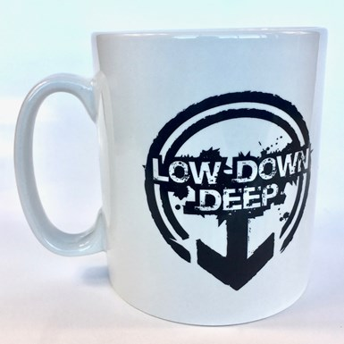 Official Low Down Deep Mug [White] artwork