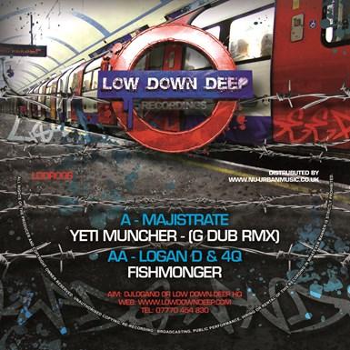 Yeti muncher remix / Fishmonger artwork