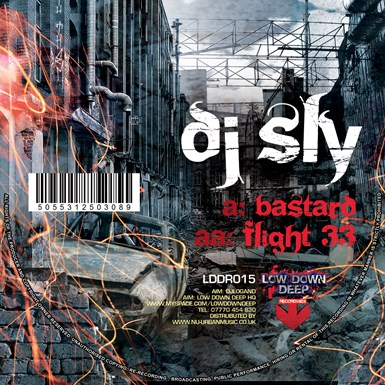 Bastard / Flight 33 artwork