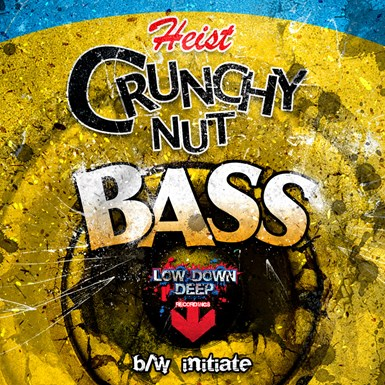 Crunchy nut bass / Initiate artwork