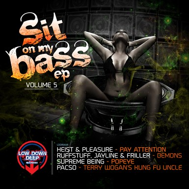 Sit On My Bass Vol. 5 artwork