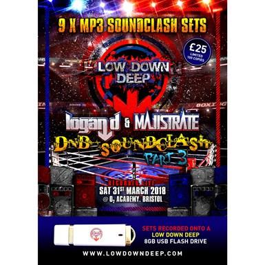 Logan D & Majistrate DNB Soundclash Part 3 - USB Pack artwork