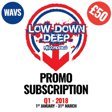 Low Down Deep Q1 Download Subscription - WAV Version artwork