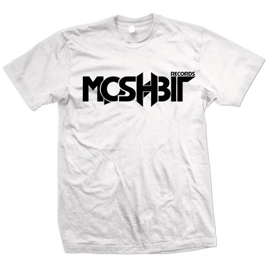 Moshbit Logo Tee [White] artwork