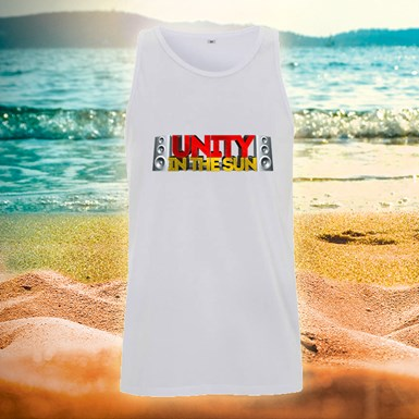 Unity In The Sun Vest [White] artwork