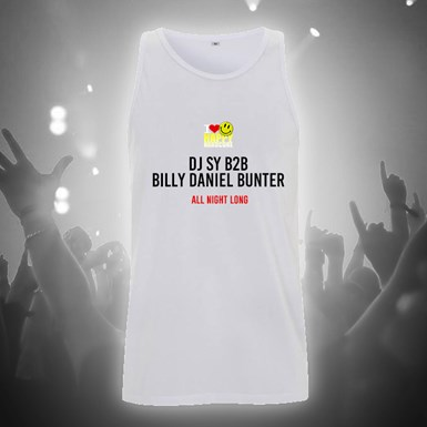 I Love Happy Hardcore All Night Vest [White] artwork