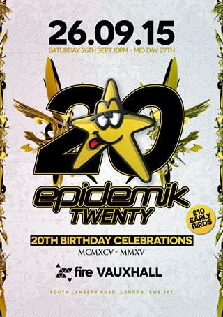 Epidemik 20th Birthday