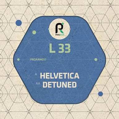 Helvetica / Detuned artwork