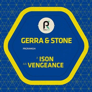 Ison / Vengeance artwork