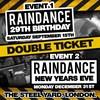 Raindance 29th Birthday & NYE 2018