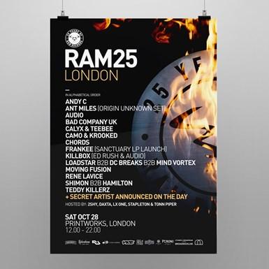 RAM25 London Poster [A2] artwork