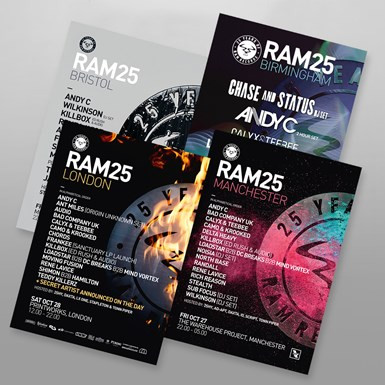 RAM25 Poster Bundle [A2] artwork