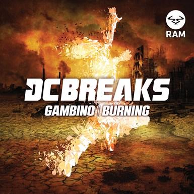 Gambino / Burning artwork