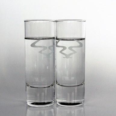 RAM Shot Glasses [Pair] artwork