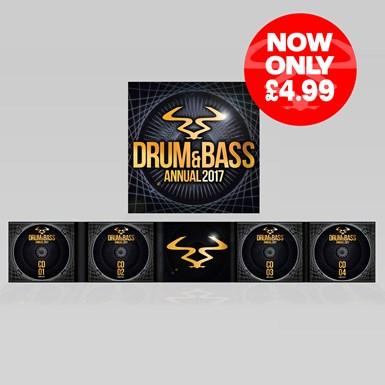 RAM Drum & Bass Annual 2017 artwork