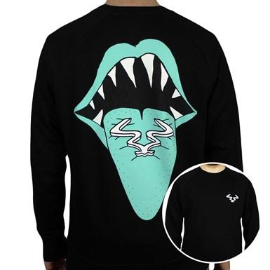RAM Tongue Sweatshirt -Black] artwork