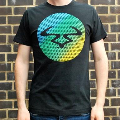 Ram Circles T-Shirt [Green Fade on Black] artwork