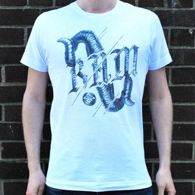 Ram Horns T-Shirt [White] artwork