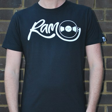 Vinyl T-Shirt - Ram X Droneboy [Black] artwork