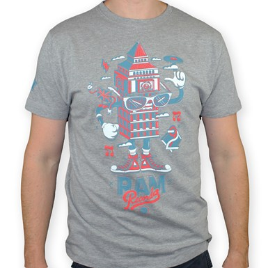 LDN Series Big Ben - Ram X DXTR T-Shirt [Grey] artwork