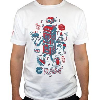LDN Series Phone Box - Ram X DXTR T-Shirt [White] artwork
