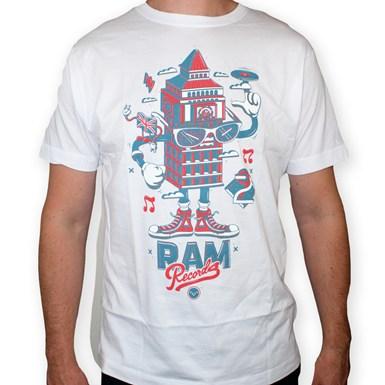 LDN Series Big Ben- Ram X DXTR T-Shirt [White] artwork