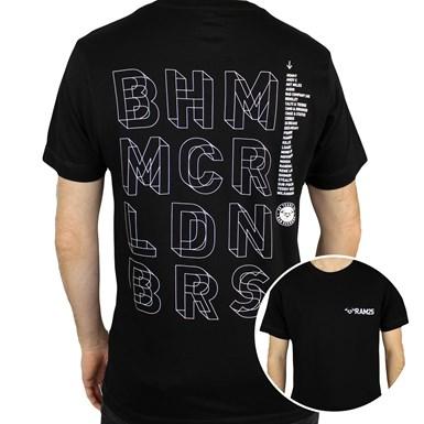 Limited Edition RAM25 Tour T-Shirt [Black] artwork