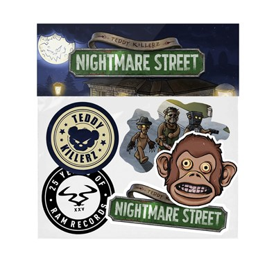 Teddky Killerz Sticker Pack artwork