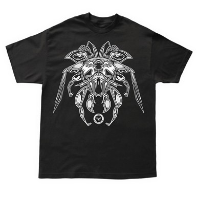Different Breed Front Print T-Shirt [Black] artwork