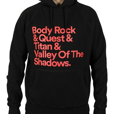Body Rock and.... Hooded Top [Black] artwork