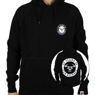 25 Years Of RAM Hooded Top [Black] artwork