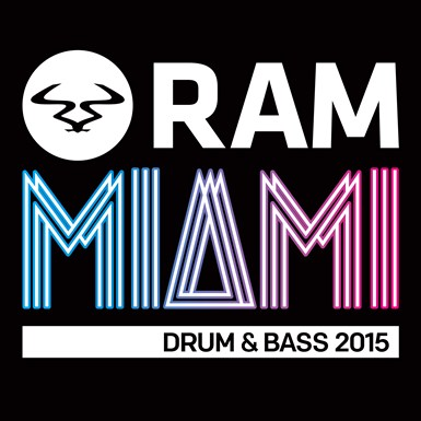 RAMiami Drum & Bass 2015 artwork