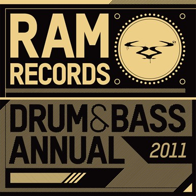 Ram Records Drum & Bass Annual 2011 artwork