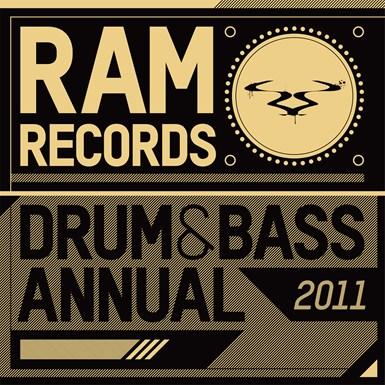 Ram Records Drum & Bass Annual 2011 artwork