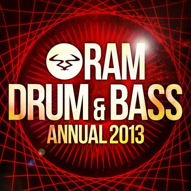 RAM Drum & Bass Annual 2013 artwork
