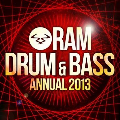 RAM Drum & Bass Annual 2013 artwork