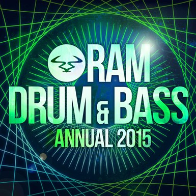 RAM Drum & Bass Annual 2015 artwork