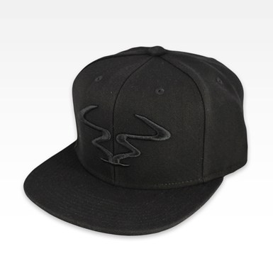RAM Snapback [Black on Black] artwork
