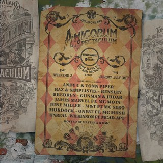 RAM Records x Tomorrowland 2017 flyer