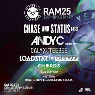 25 Years of RAM :: Birmingham flyer