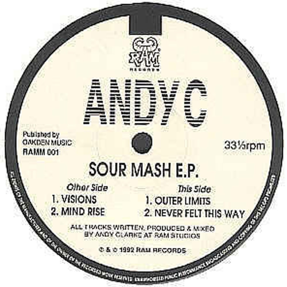 RAMM01 - Andy C - Sour Mash EP