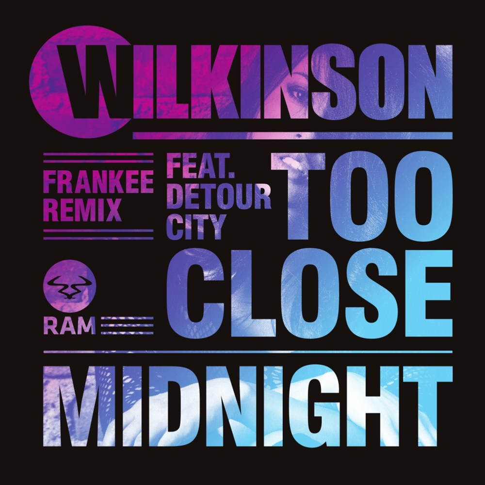 Too Close Feat. Detour City (Frankee Remix) / Midnight artwork