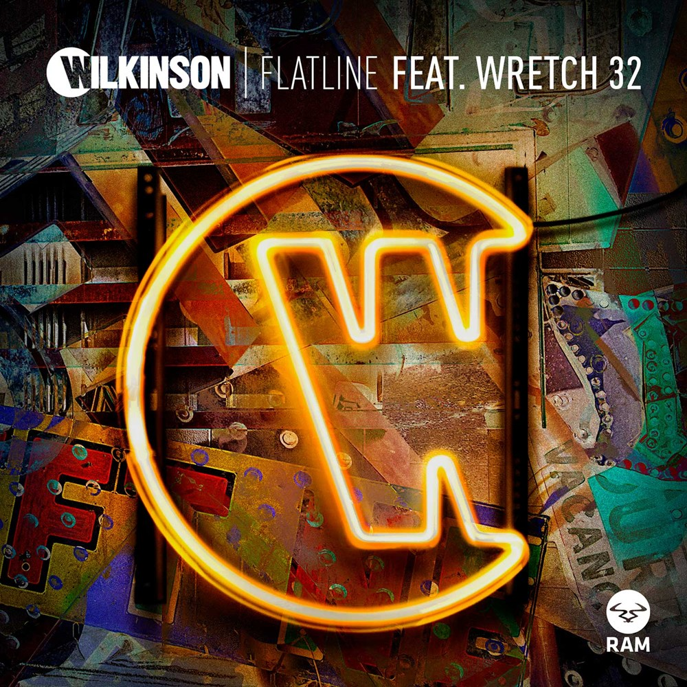 Flatline Feat. Wretch 32 artwork
